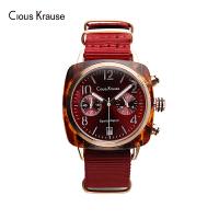 【1件3折,到手价:203.4元】Clous Krause ck手表男女通用款石英表五针多功能机芯生活防水时尚潮流手表