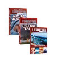 I Survived True Stories 精装 系列3本 英文原版小说 14+课外拓展阅读历史故事书