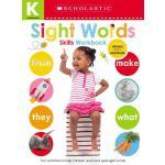 Kindergarten Skills Workbook: Sight Words (Scholastic Early