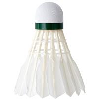羽毛球耐打鹅毛鸭毛筒装安格耐特3只装6泡沫台纤耐打训练家庭娱乐羽毛球12只