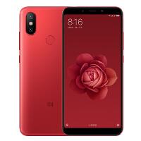 【当当自营】小米6X 全网通 4GB+64GB 赤焰红 移动联通电信4G手机 双卡双待