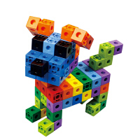 儿童塑料拼插拼装桌面积木玩具3岁以上