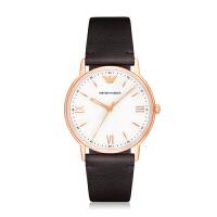阿玛尼(ARMANI)手表 时尚简约皮带男士石英腕表 AR11011/AR11012/AR11013