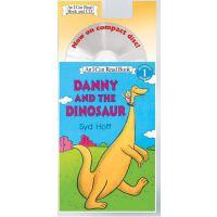 英文原版儿童书 I Can Read-Level1:Danny and the Dinosaur [With CD]丹尼