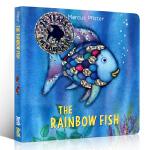 英文原版绘本 The Rainbow Fish 彩虹鱼 纸板书 凯特・格林纳威奖 3-6岁绘本读物 儿童启蒙阅读英语训