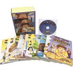 英文原版小说入门级 Ready Freddy Collection 弗雷迪系列故事 10册 附CD 小学英语阅读 章节