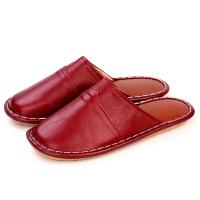 居家拖鞋男女春秋冬季室内木地板防滑防水厚底拖鞋