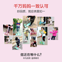 儿童滑板车三合一小孩1-3-6岁初学者宝宝宽轮溜溜车单脚5-10滑滑