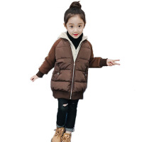 女童棉衣新款冬季加厚棉袄小女孩短款面包服外套儿童羽绒棉服