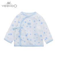 【直降】英氏新生儿和尚服纯棉 婴儿内衣宝宝秋衣单件174535 174804