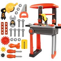 拉杆旅行工具箱修理维修玩具套装仿真儿童过家家益智男孩礼物