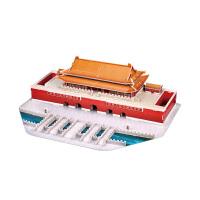 儿童3D立体拼图 智力拼图玩具 建筑模型拼装 生日礼物