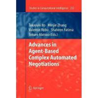 【预订】Advances in Agent-Based Complex Automated
