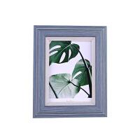 欧式相框摆台5 6 7 8 10寸A4十字绣创意装饰画框简约婚纱照片挂墙 A4(可挂可摆 横竖通用)