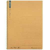 日本maruman美乐麦|spiral 牛皮纸封面螺旋笔记本 记事本A4 40页