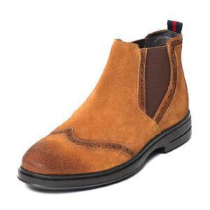 Teenmix/天美意专柜同款二层牛皮男休闲靴65K40DD6