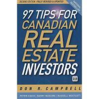【预订】97 Tips For Canadian Real Estate Investors 2.0