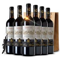法国原瓶原装进口09年波尔多AOC级贝德干红葡萄酒750ml红酒整箱+开瓶器