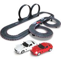 音速风暴电动轨道赛车手摇遥控轨道玩具小汽车赛道套装TR05