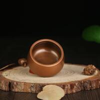 铜香炉纯铜仿古香插铜炉紫铜宣德炉沉香檀香炉佛教用品 大号直径10cm 现货