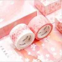 晨光文具新品樱吹雪和纸胶带和纸装饰日记创意樱花手帐胶带樱花手斯胶带学生用品