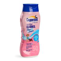 美国水宝宝Coppertone儿童水嫩防晒霜/乳SPF50无泪防水 237ml