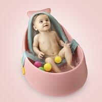 宝宝洗澡盆 婴儿浴盆小号幼儿小孩大号沐浴可坐躺通用