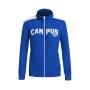 特步女运动休闲外套秋季舒适保暖时尚针织外套984128340247