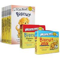 英文原版绘本 I Can Read 一阶段 Biscuit 42册 汪培�E推荐0-3-5岁阅读学习英语 小饼干狗套装启