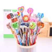 铅笔儿童礼品学习文具用品小学生奖品hb创意儿童可爱卡通带橡皮擦