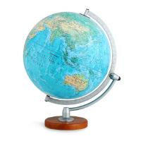 【正版全新直发】博目地球仪:30cm中英文地形政区双画面地球仪(LED感应灯光型)3006 北京博目地图制品有限公司