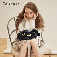 【1件3折,到手价:316.8元】Clous Krause ck包包新款2019秋冬新品英国小众复古腋下包百搭ins单