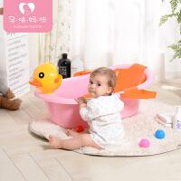 儿童洗澡桶可坐躺小孩大号 浴盆宝宝婴儿洗澡盆浴桶