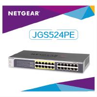 美国网件/NETGEAR JGS524PE 24端口千兆PoE简单网管交换机