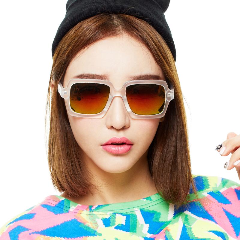 Inmix音米 时尚女士太阳镜 女新款韩版潮眼睛 男士潮人墨镜