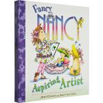 漂亮的南希 英文原版绘本 Fancy Nancy Aspiring Artist 精装儿童故事图画书