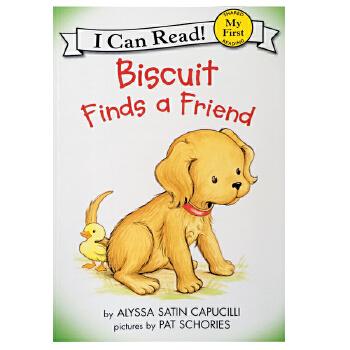 英文原版 My First I Can Read Biscuit Finds a Friend汪培珽英文私房书单