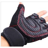 男士女健身房半指运动手套锻练哑铃举重护腕防滑 健身手套