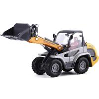 【合金小铲车】合金汽车玩具工程车小铲车装载机轻型铲车