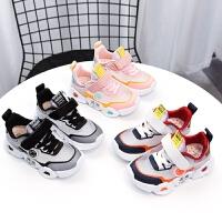 女童鞋男童网鞋夏季款中大童跑步鞋透气舒适单网儿童运动鞋