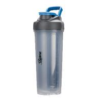 汉馨堂 摇摇杯 蛋白粉水杯运动水壶健身塑料杯酵素奶茶杯
