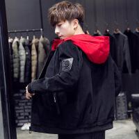 男士外套休闲春秋季2018新款韩版潮流加厚帅气牛仔学生薄夹克迷彩