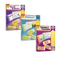 【五年级】Skill Sharpeners Grade 5 美国加州教材技能铅卷笔刀 Math数学Science科学R