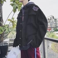 2018潮流春季新款韩版牛仔夹克男士春秋外套帅气修身休闲衣服