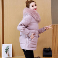 2018冬季女装羽绒棉衣中长款韩版时尚百搭休闲棉袄外套潮