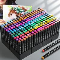 马克笔套装touch正品学生双头80色初学者60色动漫小学生正版全套美术生专用48色24色36色手绘画水彩笔1000色