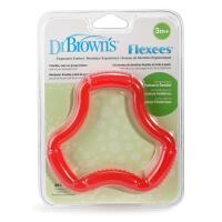 布朗博士Flexees 宝宝磨牙棒婴儿牙胶3个月以上宝宝婴儿硅胶牙胶