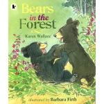 英文原版绘本 Bears in the Forest 小学STEM 科普百科科普图画书 Walker Nature S