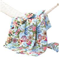 【年度钜惠 限时秒杀】富安娜出品 圣之花清新印花纯棉空调夏被柔软亲肤夏被