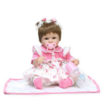 20180604025321527EBAY速卖通货源 仿真柔软软胶婴儿宝宝洋娃娃玩具 如图 42厘米